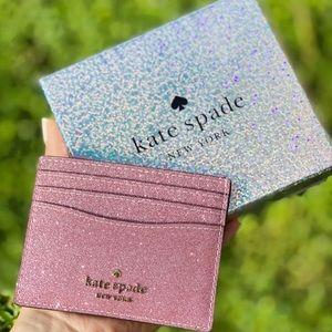 NewInBox Kate Spade Glitter Cardholder